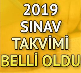 2019-2020 VİZE TARİHLERİ(GÜZ YARIYILI)